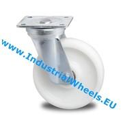 Drejeligt hjul, Ø 125mm, PolyamidHjul, 600KG
