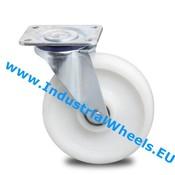 Drejeligt hjul, Ø 150mm, PolyamidHjul, 700KG