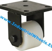 Fixed caster, Ø 82mm, Polyamide wheel, 750KG