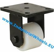 Fixed caster, Ø 85mm, Polyamide wheel, 800KG