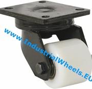 Swivel caster, Ø 85mm, Polyamide wheel, 800KG