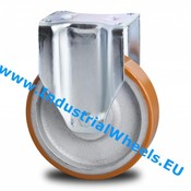 Fast hjul, Ø 200mm, Vulkaniseret Polyuretan, 950KG