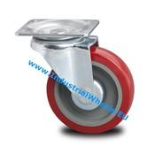 Swivel caster, Ø 125mm, polyurethane-tyre, 250KG