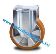 Roda fixa, Ø 160mm, poliuretano fundido, 600KG