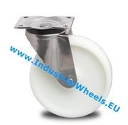 Drejeligt hjul, Ø 125mm, PolyamidHjul, 450KG
