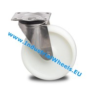 Roda giratória, Ø 150mm, Roda Poliamida, 500KG