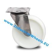 Swivel caster, Ø 200mm, Polyamide wheel, 500KG