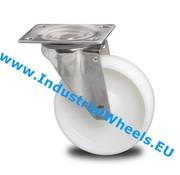 Lenkrolle, Ø 80mm, Rad aus Polyamid, 150KG