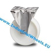 Bockrolle, Ø 200mm, Rad aus Polyamid, 300KG