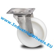 Roda giratória, Ø 150mm, Roda Poliamida, 300KG