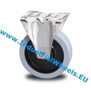 Zestaw stały, Ø 125mm, elastycznej gumy wulkanizowanej, 200KG