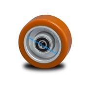 Roda, Ø 125mm, poliuretano fundido, 300KG