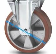Fast hjul, Ø 160mm, Vulkaniseret Polyuretan, 300KG
