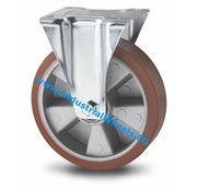 Roda fixa, Ø 200mm, poliuretano fundido, 400KG
