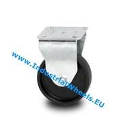 Fast hjul, Ø 50mm, Polypropylen Hjul, 40KG