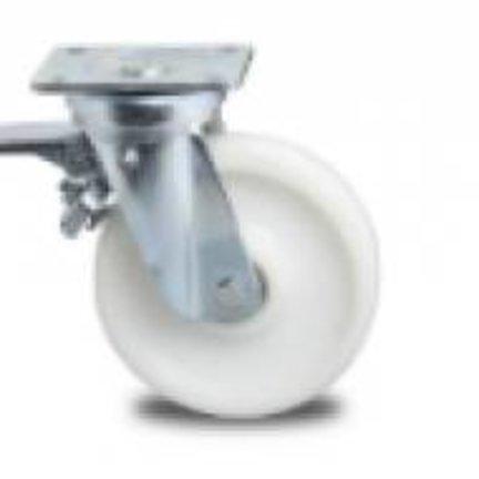 Forstærket container hjul, polyamid hjul, kugleleje, Til intensiv brug