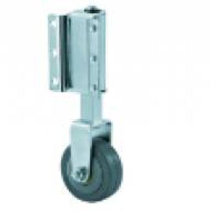 Furniture Castors - Spring Loaded Ladder Wheels With Suspension