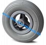 Wheel, Ø 150mm, pneumatic tyre with rip profile, 75KG