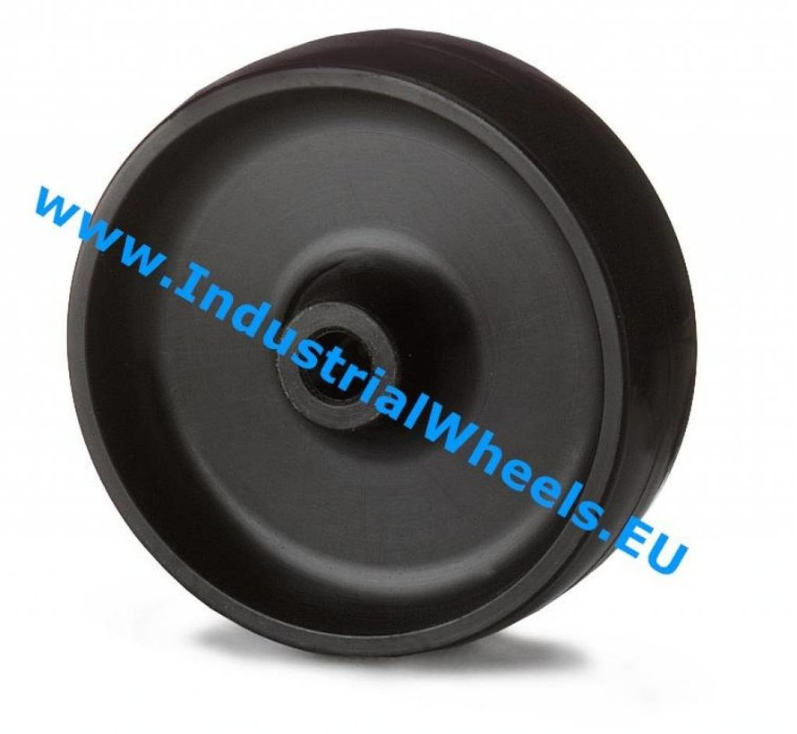 Institutional Wheel from Polypropylene Wheel, plain bearing, Wheel-Ø 100mm, 80KG