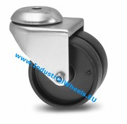 Swivel caster, Ø 50mm, Polypropylene Wheel, 80KG