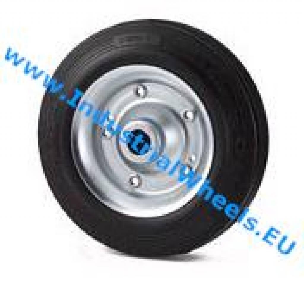 Industrial Wheel Wheels Cast Iron Coated poliur Ball Bearings d.200 kg.950