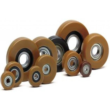 Polyurethane Guide Rollers With Shore D.