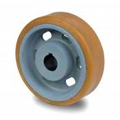 drive wheel Vulkollan® Bayer tread cast iron, Ø 300x65mm, 1550KG