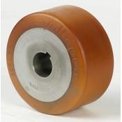 drive wheel Vulkollan® Bayer tread cast iron, Ø 100x65mm, 575KG