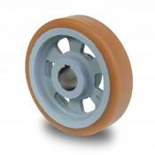 Antriebsräder Vulkollan® Bayer  Lauffläche Radkörper aus Gußeisen, Ø 65x30mm, 175KG