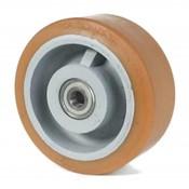 Vulkollan® Bayer Lauffläche Radkörper aus Gußeisen, Ø 500x80mm, 3000KG