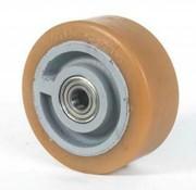 Vulkollan® Bayer hjulbane støbegods, Ø 360x65mm, 1850KG