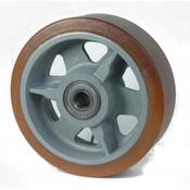 Vulkollan® Bayer hjulbane støbegods, Ø 300x100mm, 2400KG