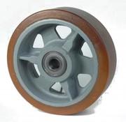 Vulkollan® Bayer opona litej stali, Ø 300x100mm, 2400KG