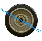 Wheel, Ø 100mm, elastic-tyre, 150KG