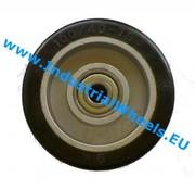Rad, Ø 125mm, Elastikreifen, 200KG