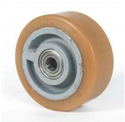 poliuretano Vulkollan® bandaje núcleo de rueda de hierro fundido, Ø 200x65mm, 1100KG