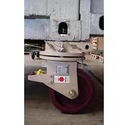 Ställ svängbara hörn towcastors för att flytta ISO fraktcontainrar 10,000 KG