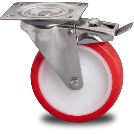Stainless Steel Castors & Wheels With Inox Housings