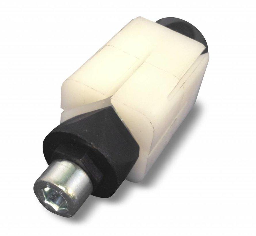 fixation expansible pour tubes, fixation pour tube rond: 21,0 - 21,9 mm