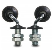 swivel castor, Ø 35mm, elastic-tyre, 12KG