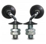 swivel castor, Ø 50mm, elastic-tyre, 20KG