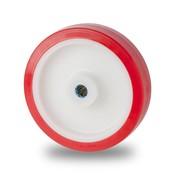 Hjul, Ø 80mm, polyuretan, 180KG