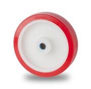 rueda, Ø 80mm, poliuretano inyectado, 180KG