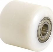 wheel, Ø 85mm, fully nylon (PA6) wheel, 650KG