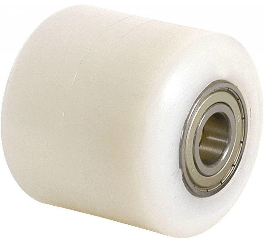 carritos transpaletas rueda falta rueda nylon / poliamida, cojinete de bolas de precisión, Rueda-Ø 85mm, 650KG