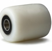 wheel, Ø 80mm, fully nylon (PA6) wheel, 650KG