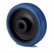 wheel, Ø 125mm, elastic-tyre, 180KG
