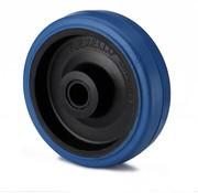 roue, Ø 125mm, élastique, 180KG