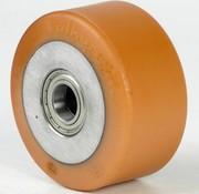 Vulkollan® Bayer  Lauffläche Radkörper aus Gußeisen, Ø 150x65mm, 800KG