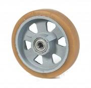 Vulkollan® Bayer tread cast iron, Ø 125x40mm, 400KG